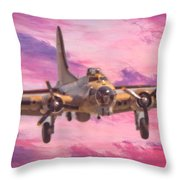 Arrival Of A Fortress Throw Pillow
