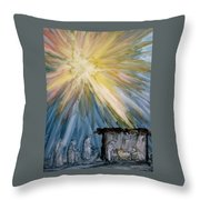 Arrival Of Kings Throw Pillow