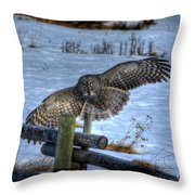 Arrival Throw Pillow by Skye Ryan-Evans