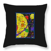 arriving at the nu planet Z-98 Throw Pillow