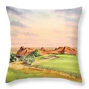 Arrowhead Golf Course Colorado Hole 3 Throw Pillow