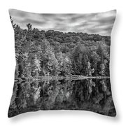 Arrowhead Provincial Park Bw Throw Pillow