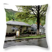 Arrowtown, New Zealand Throw Pillow