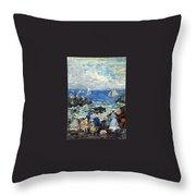 art 032 Maurice Prendergast Throw Pillow