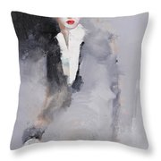 Photographed Throw Pillow