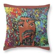 Art Afro Throw Pillow
