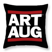 Art Aug Throw Pillow