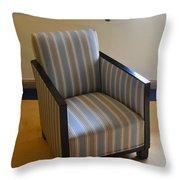 Art Deco Chair Throw Pillow