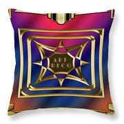 Art Deco Design 2020 C Throw Pillow