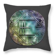 Art Deco - E Throw Pillow
