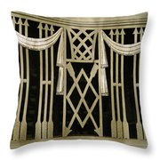 Art Deco Grate 2 Throw Pillow