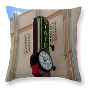 Art Deco Theatre Throw Pillow