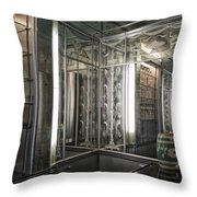 Art Deco Bar Vertical Throw Pillow