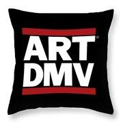 Art Dmv Throw Pillow