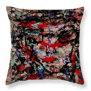 Art Effects Throw Pillow