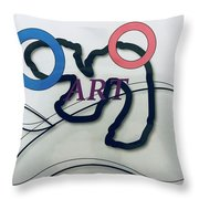 Art Throw Pillow