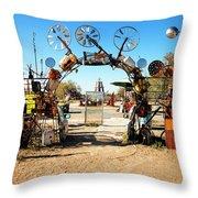 Art Garden Throw Pillow