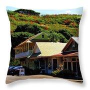 Art In Hanapepe Throw Pillow