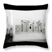 Art In The Casbah Throw Pillow