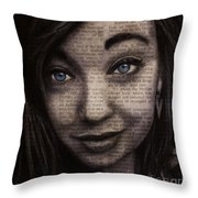 Art In The News 88-justice Throw Pillow