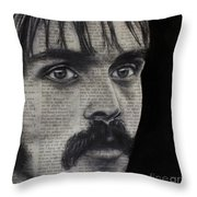 Art In The News 95-steve Prefontaine Throw Pillow