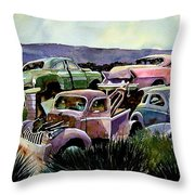 Art In The Orchard Throw Pillow