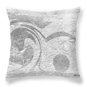 Art Is Healing By Sherri Of Palm Springs Throw Pillow