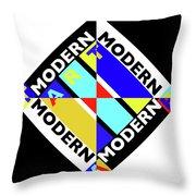 Art Modern Throw Pillow