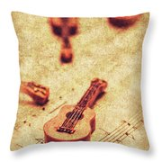 Art Of Classical Rock Throw Pillow