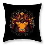 Art Of Iron Throw Pillow