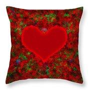 Art Of The Heart 2 Throw Pillow