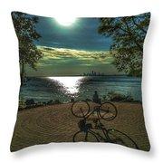 Art Of The Morning Sun Throw Pillow