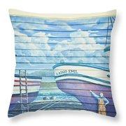 Art On The Bayfront 1 Throw Pillow