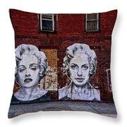Art On The Street Throw Pillow