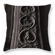 Art On The Truss Throw Pillow