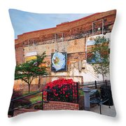 Art Scene Throw Pillow
