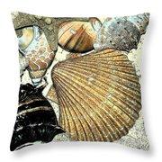 Art Shell 2 Throw Pillow