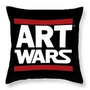 Art Wars Throw Pillow