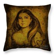 Artemis Who Throw Pillow
