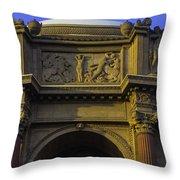 Artful Palace Of Fine Arts Throw Pillow