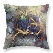 Arthropodium Throw Pillow