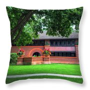 Arthur B. Huertly House Throw Pillow