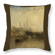 Arthur James Meadows Throw Pillow