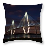 Arthur Ravenel At Night Throw Pillow