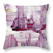 Artic Sailing Throw Pillow