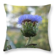 Artichoke Throw Pillow