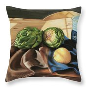 Last Day Of Fall Throw Pillow