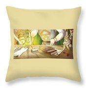 Articles Of The Barons 2 Throw Pillow