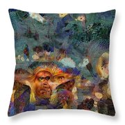 Artifact Chic No 61 Throw Pillow