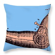 Artificial Arm Designed By Ambroise Throw Pillow